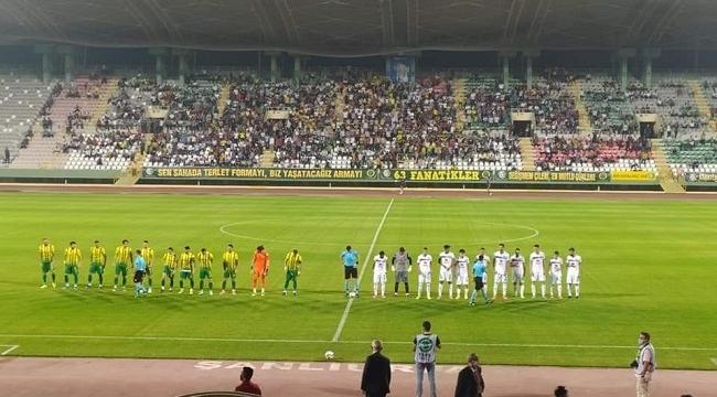 Şanlıurfaspor 3- Karacabey Belediyespor 2
