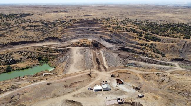 Siverek Taşıkara Barajı'nda çalışmalar sürüyor